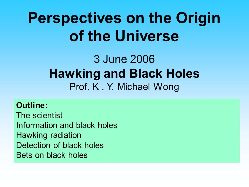 Perspectives on the Origin of the Universe