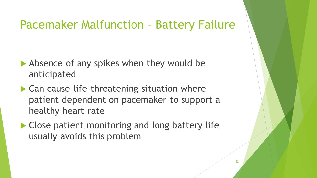 Pacemaker Malfunction – Battery Failure