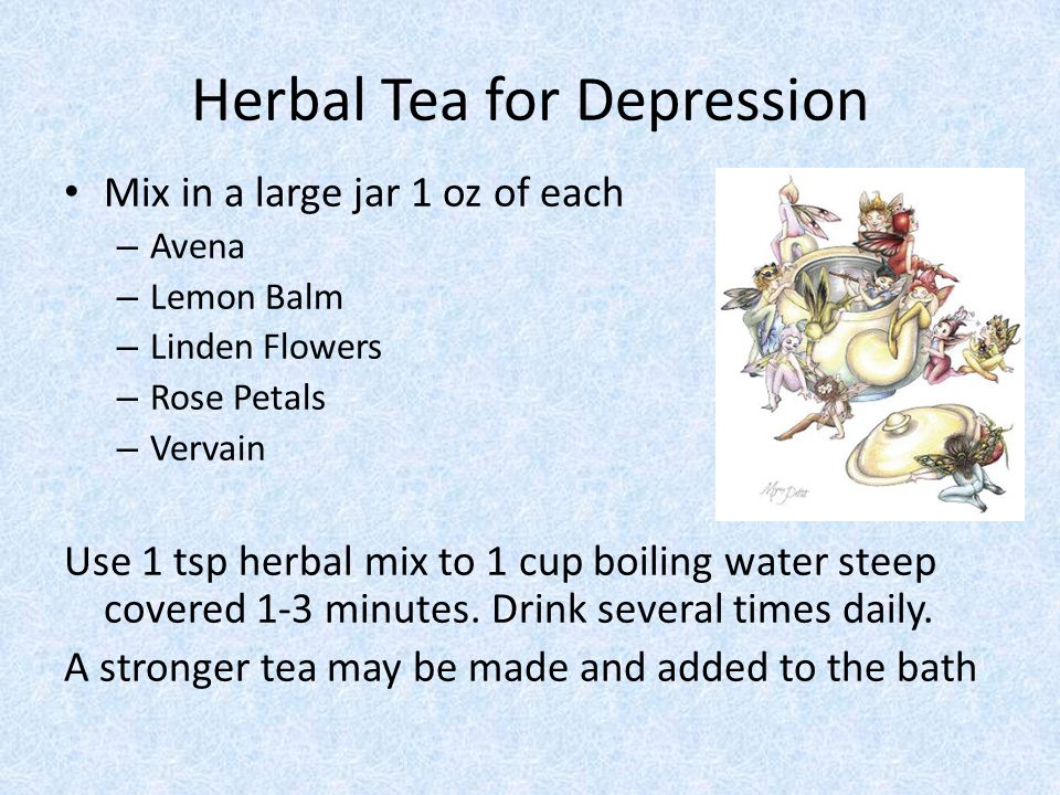 Herbal Tea for Depression