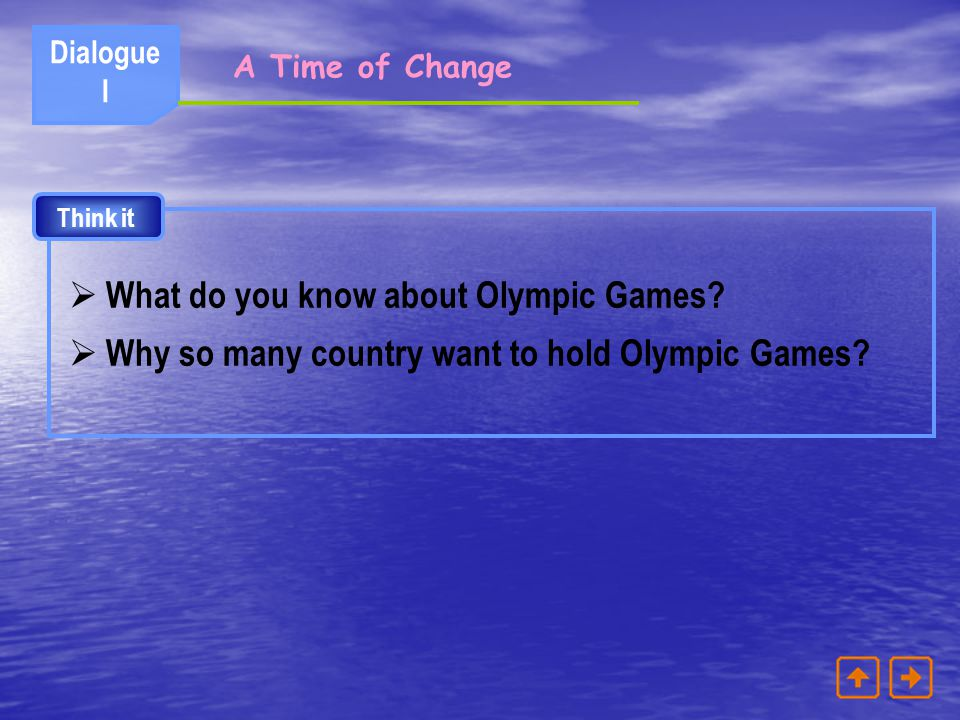 What do you know about Olympic Games