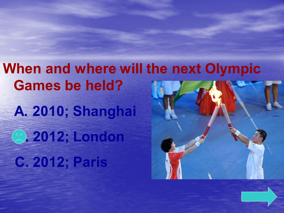 When and where will the next Olympic Games be held