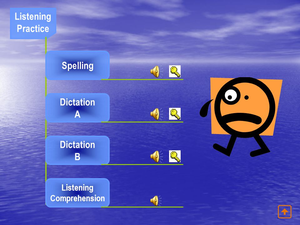 Listening Practice Spelling Dictation A Dictation B