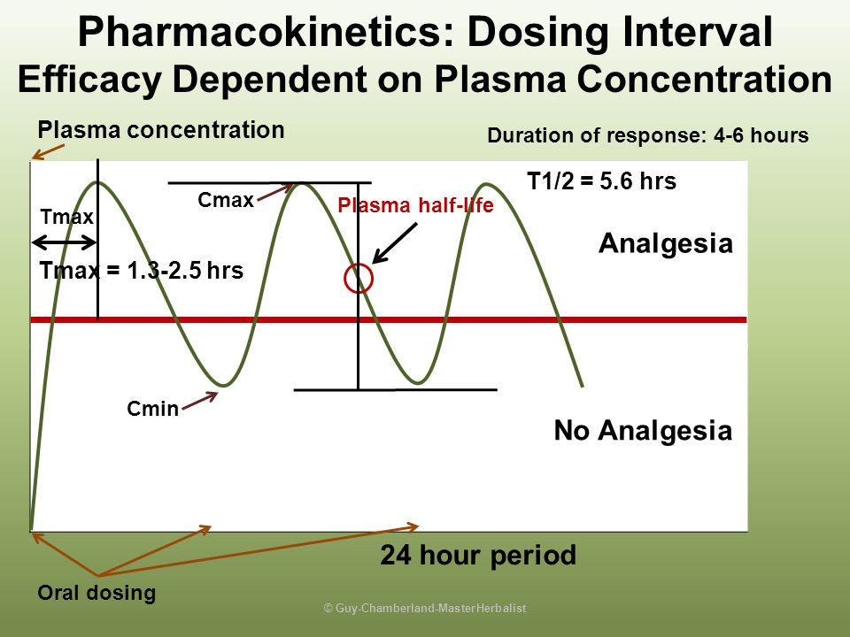 Pharmacokinetics: Dosing Interval