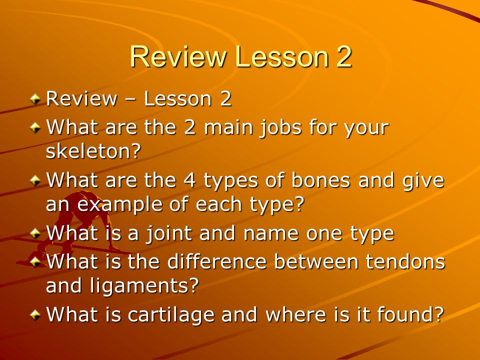 Review Lesson 2 Review – Lesson 2