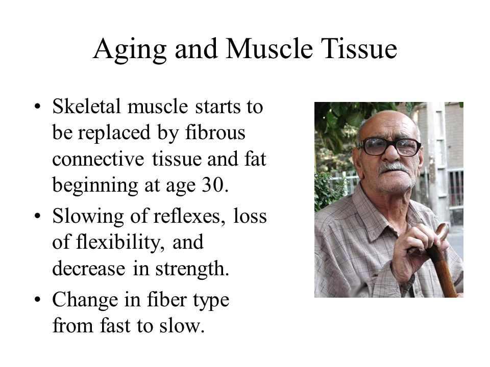 Aging and Muscle Tissue