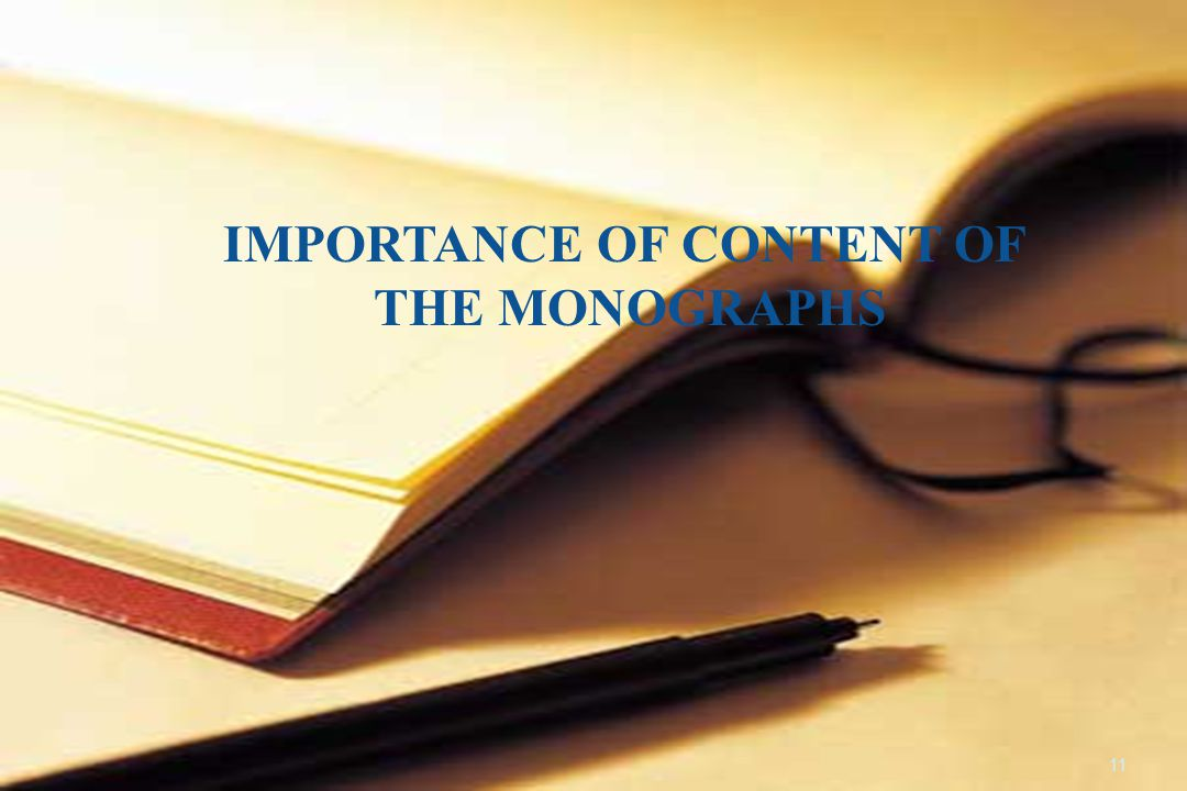 IMPORTANCE OF CONTENT OF