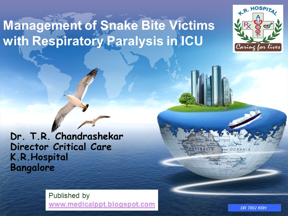 Management of Snake Bite Victims with Respiratory Paralysis in ICU