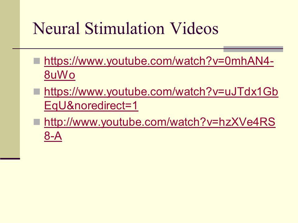Neural Stimulation Videos