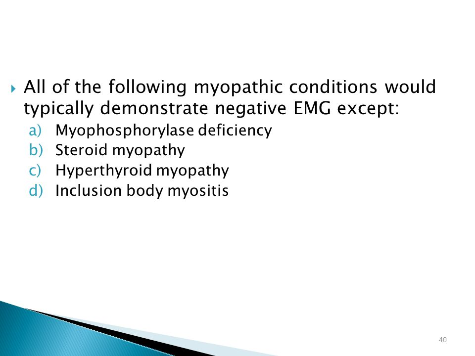 All of the following myopathic conditions would typically demonstrate negative EMG except: