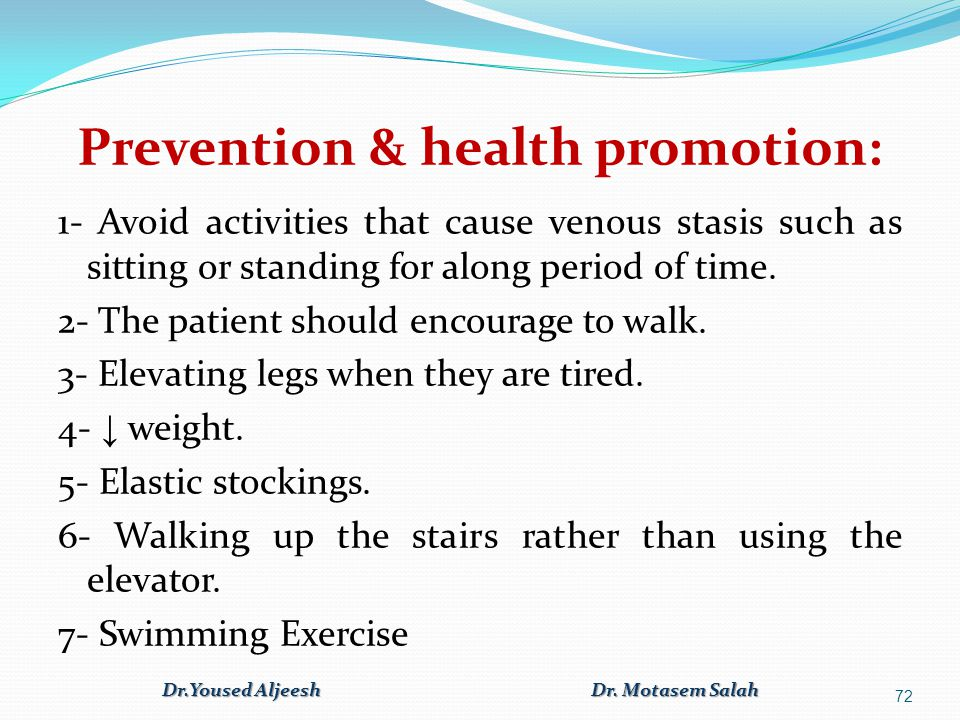 Prevention & health promotion: