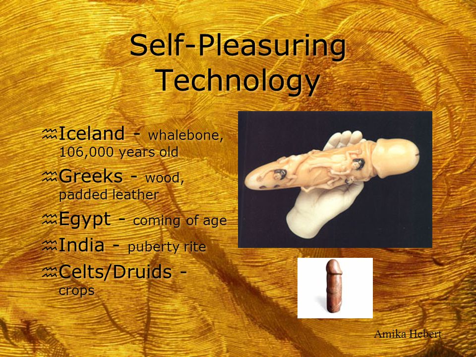 Self-Pleasuring Technology