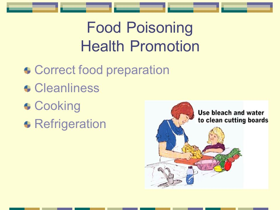 Food Poisoning Health Promotion