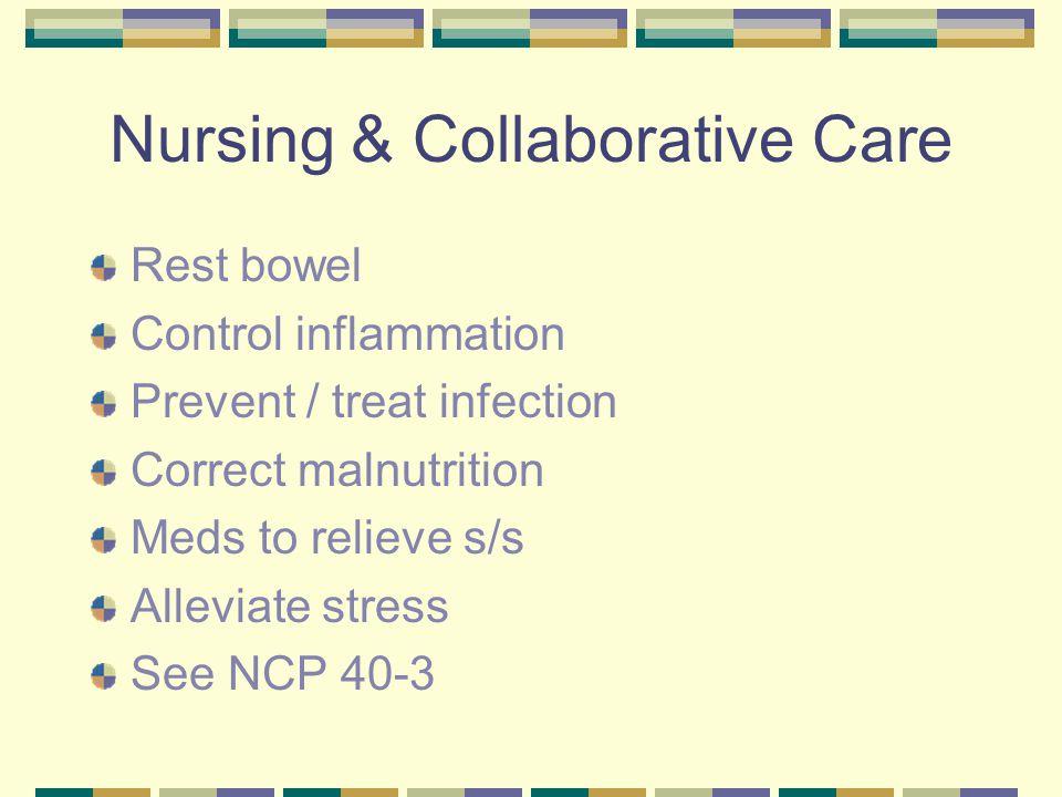 Nursing & Collaborative Care