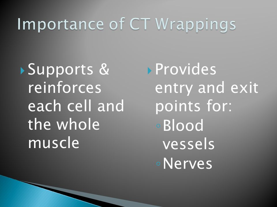 Importance of CT Wrappings