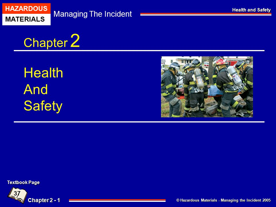 Chapter 2 Health And Safety
