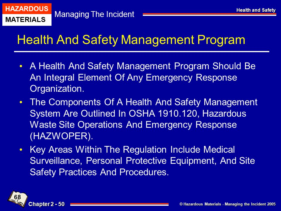 Health And Safety Management Program