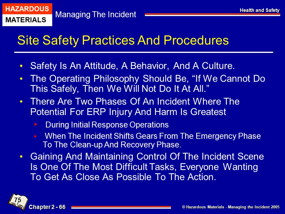Site Safety Practices And Procedures