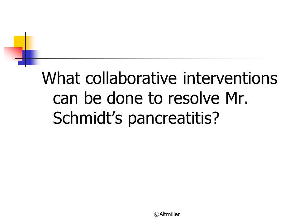 What collaborative interventions can be done to resolve Mr