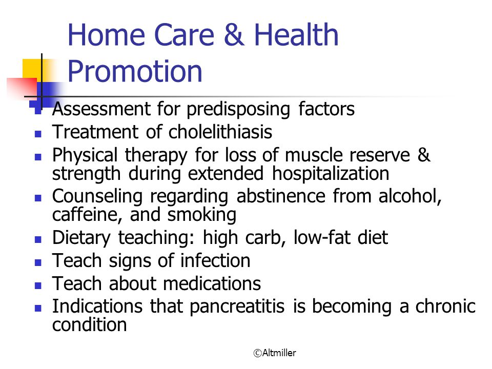 Home Care & Health Promotion