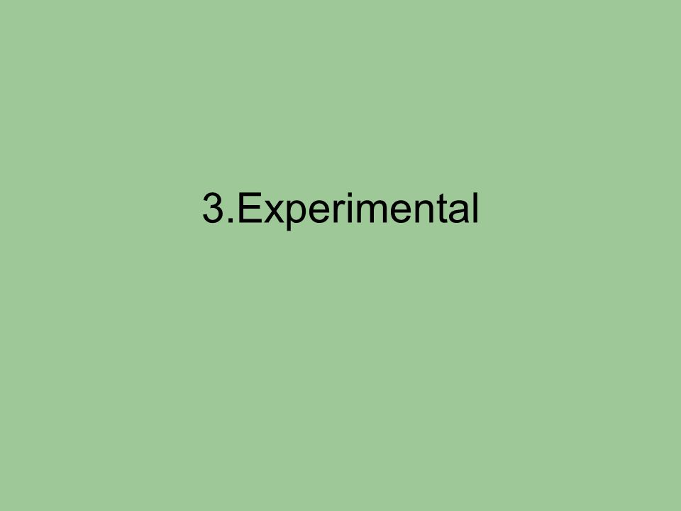 3.Experimental