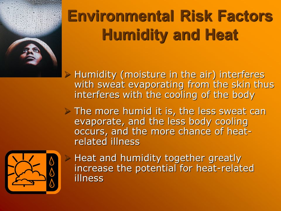 Environmental Risk Factors Humidity and Heat