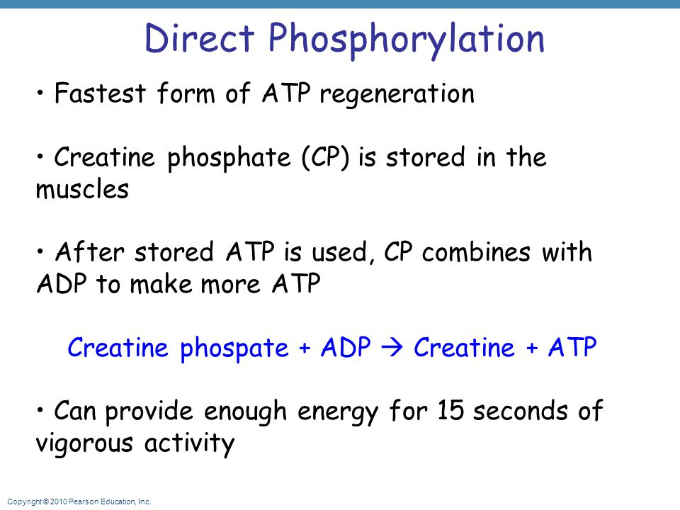 Direct Phosphorylation