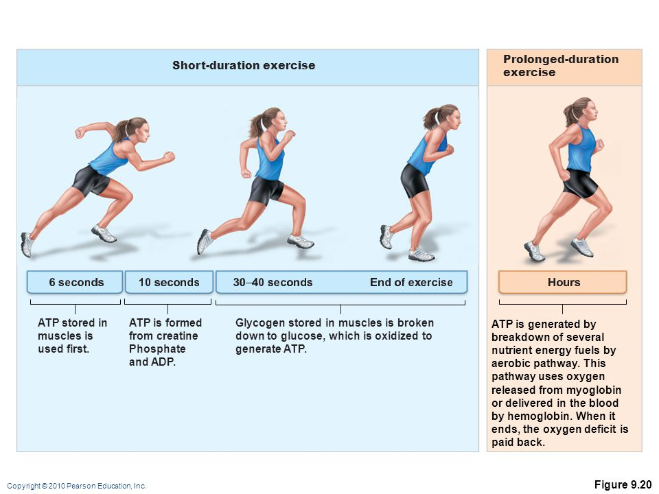 Short-duration exercise