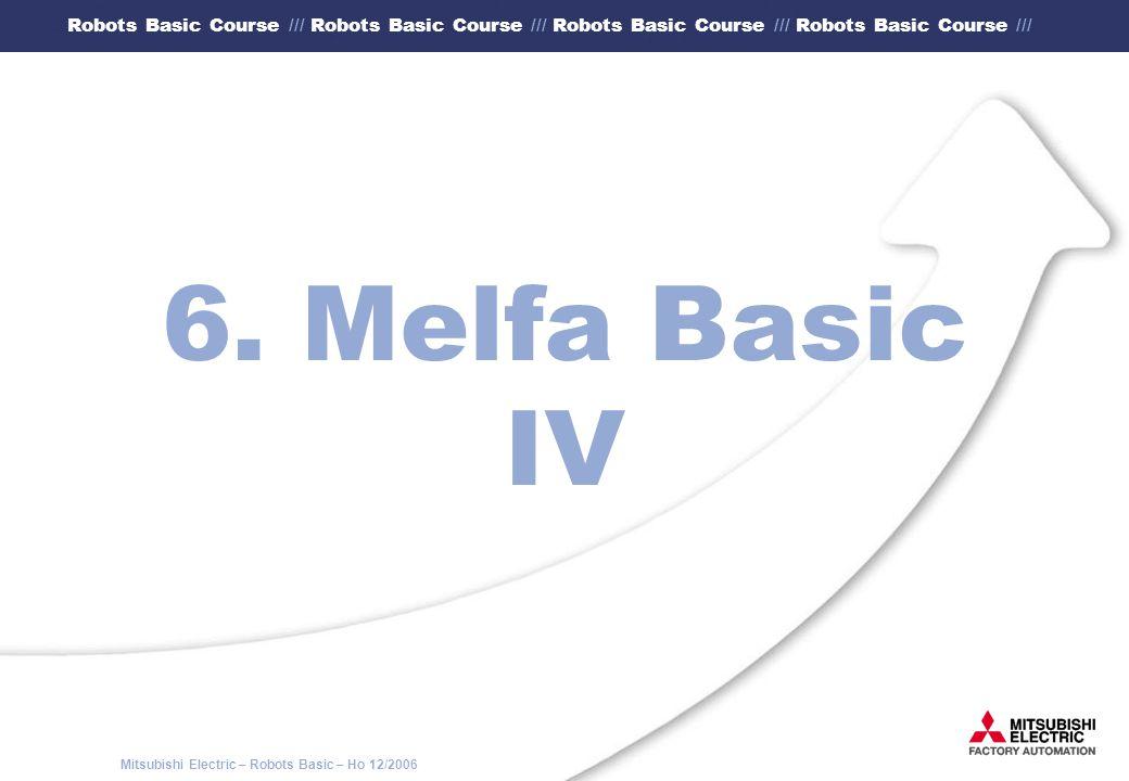 6. Melfa Basic IV