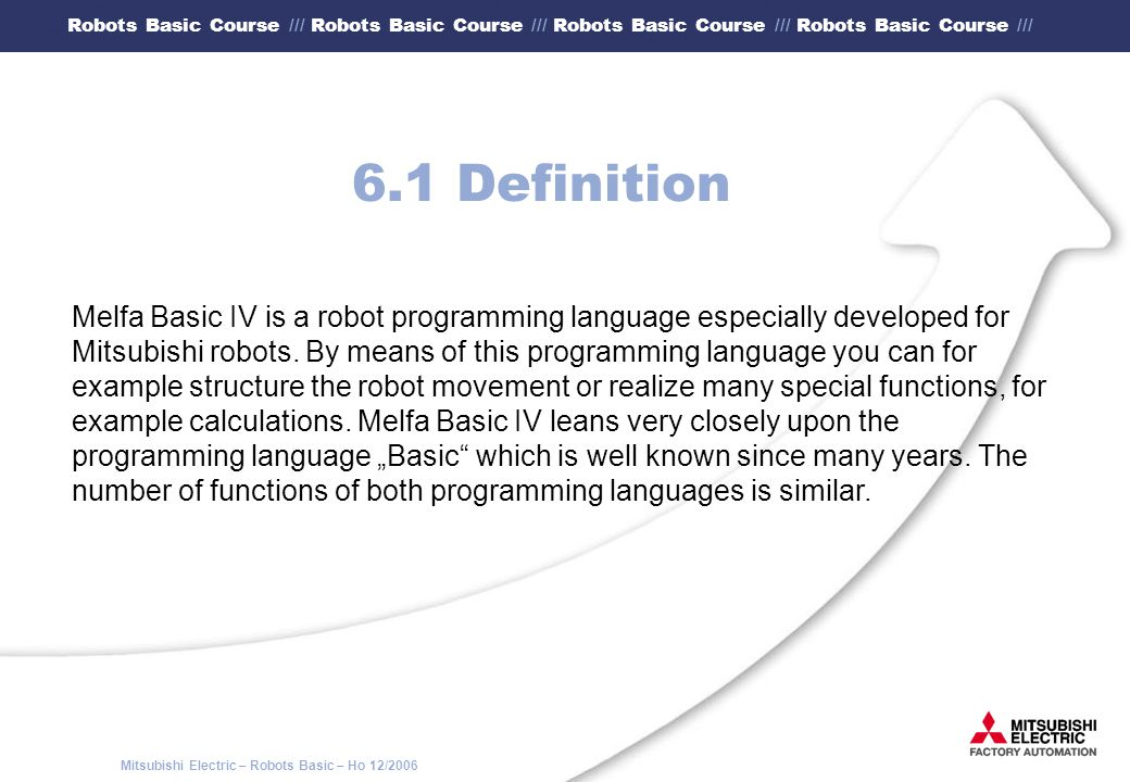 6.1 Definition