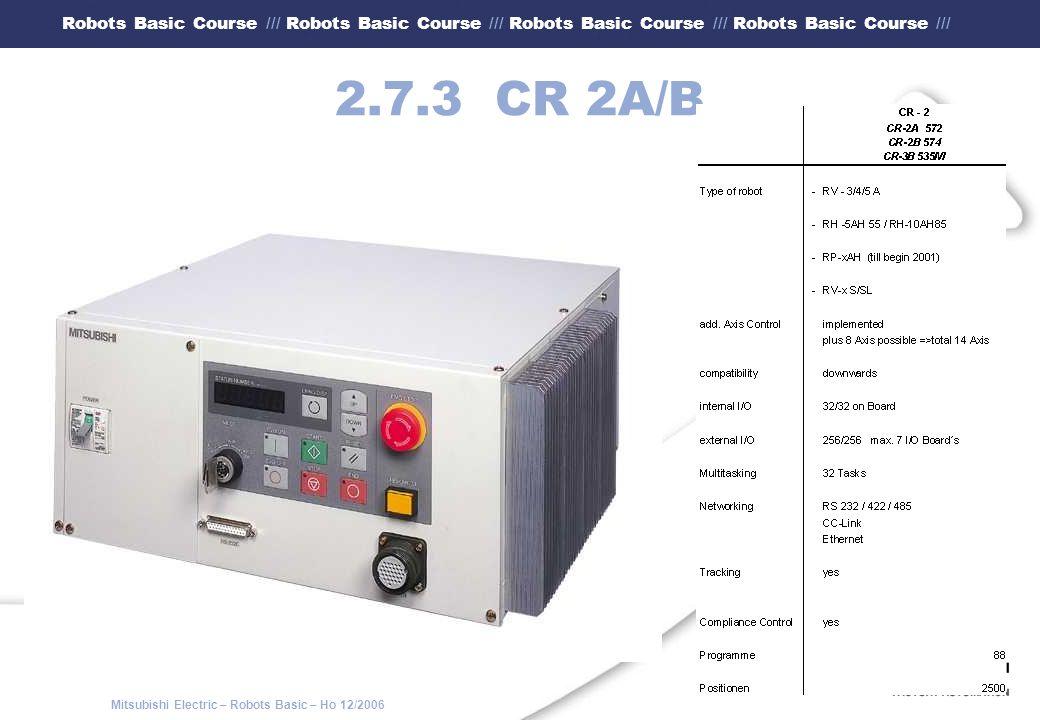 2.7.3 CR 2A/B