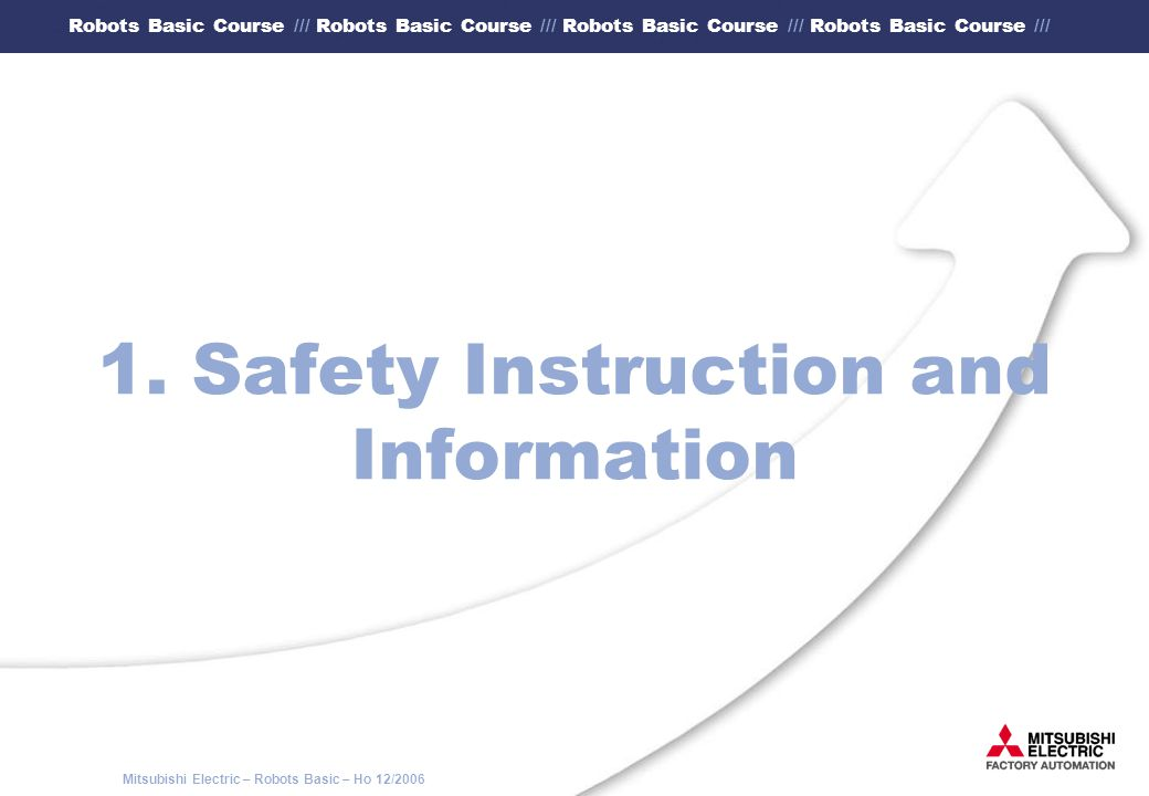 1. Safety Instruction and Information