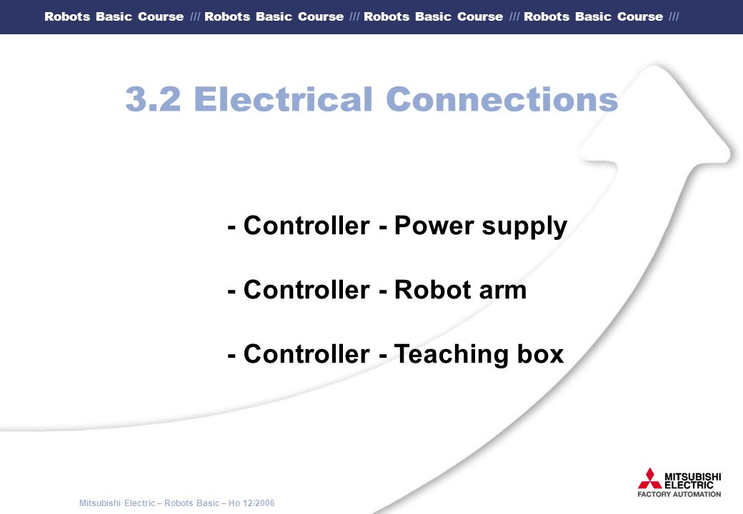 3.2 Electrical Connections