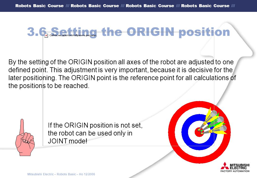 3.6 Setting the ORIGIN position