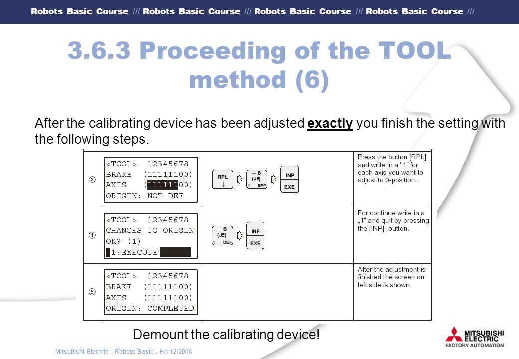 3.6.3 Proceeding of the TOOL method (6)