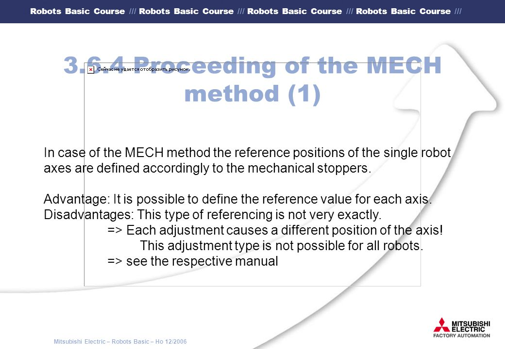 3.6.4 Proceeding of the MECH method (1)