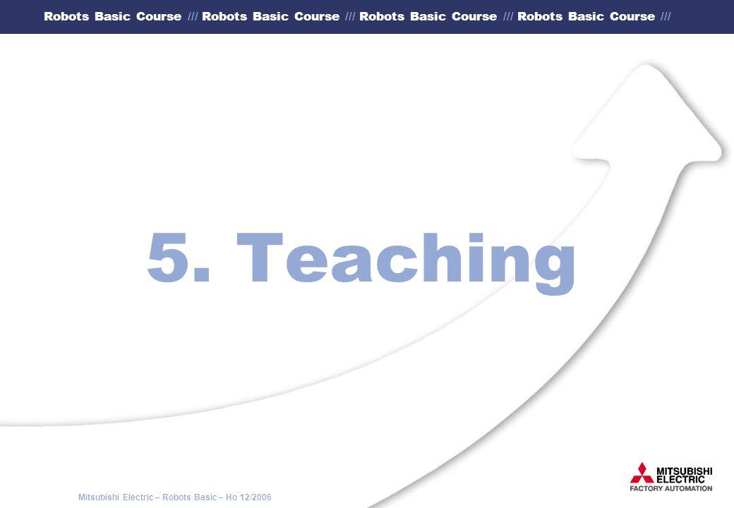 5. Teaching