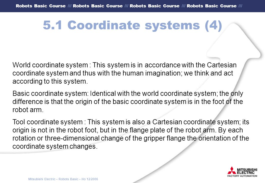 5.1 Coordinate systems (4)