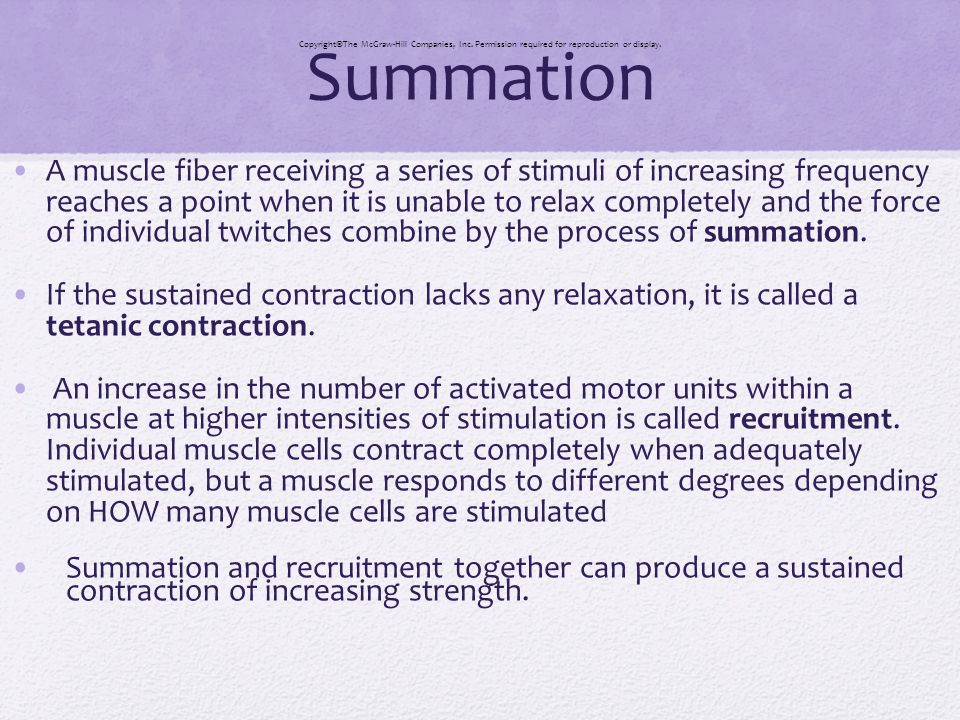 Summation CopyrightThe McGraw-Hill Companies, Inc. Permission required for reproduction or display.