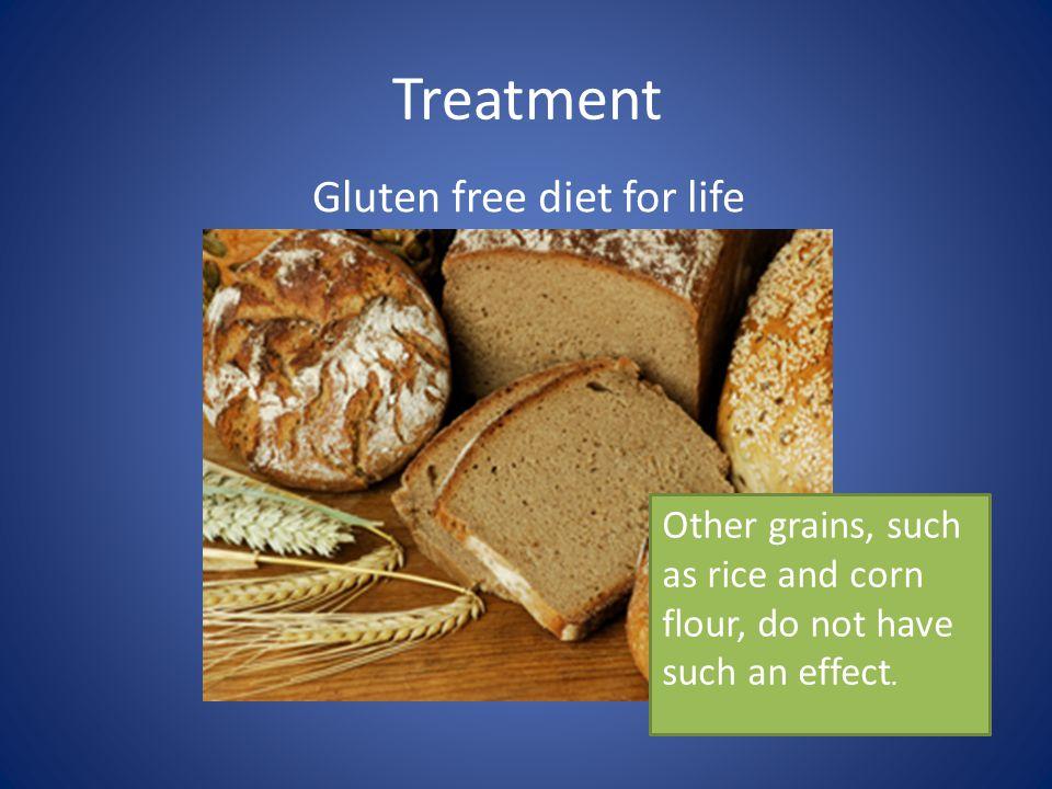 Gluten free diet for life