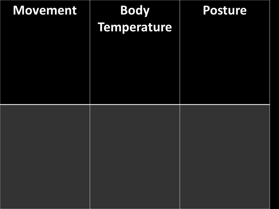 Movement Body Temperature Posture