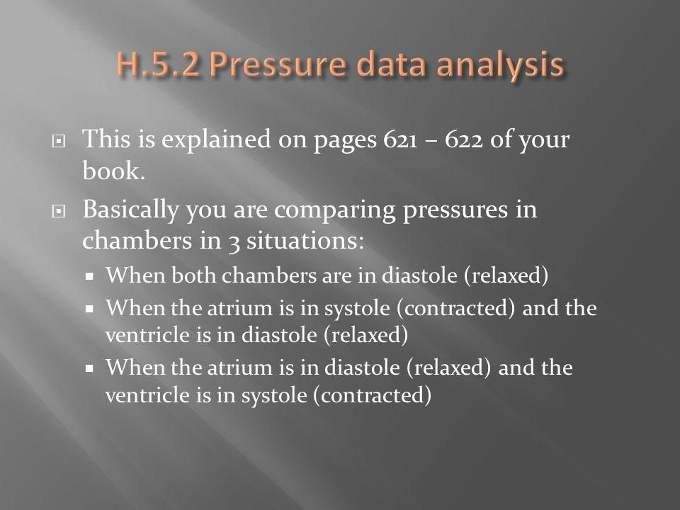 H.5.2 Pressure data analysis