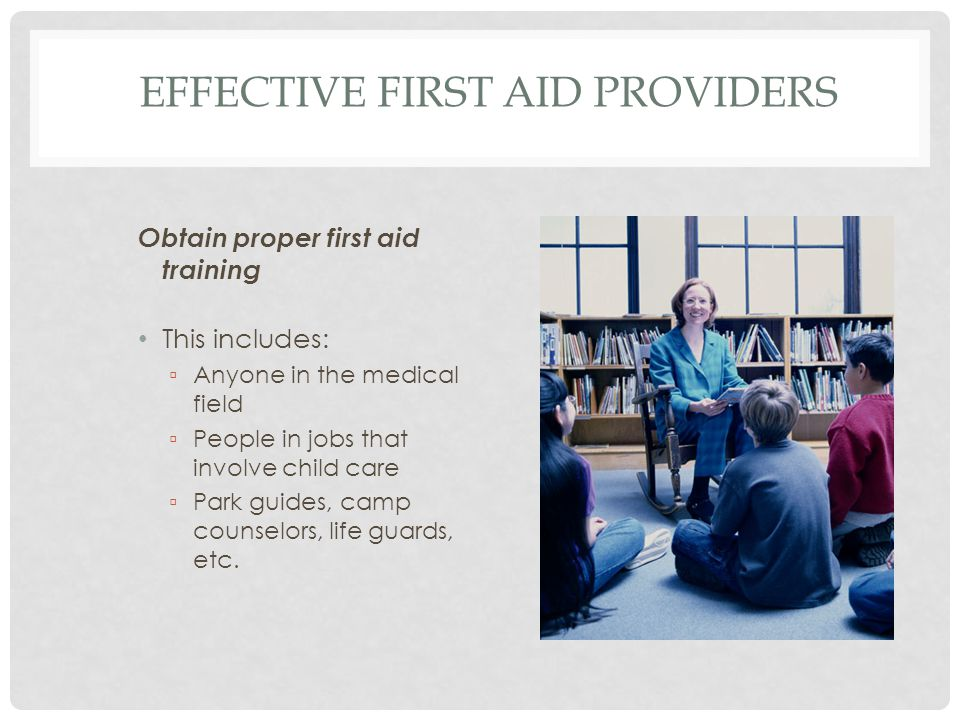 Effective First Aid Providers