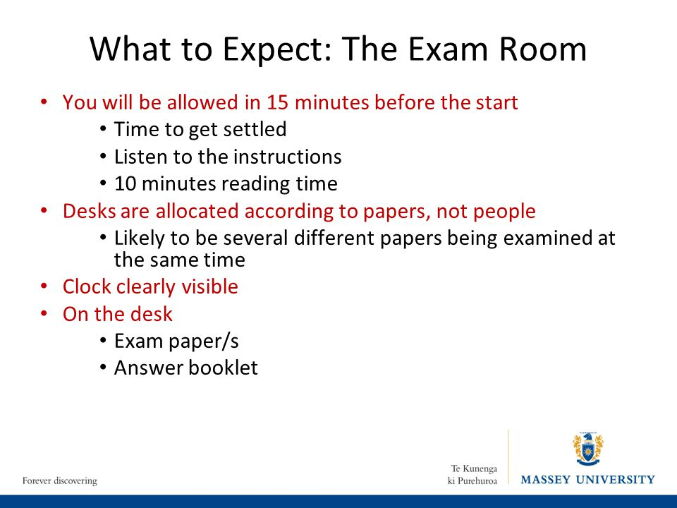 What to Expect: The Exam Room