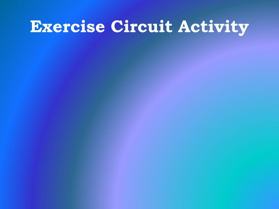 Exercise Circuit Activity