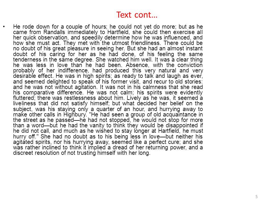 Text cont…