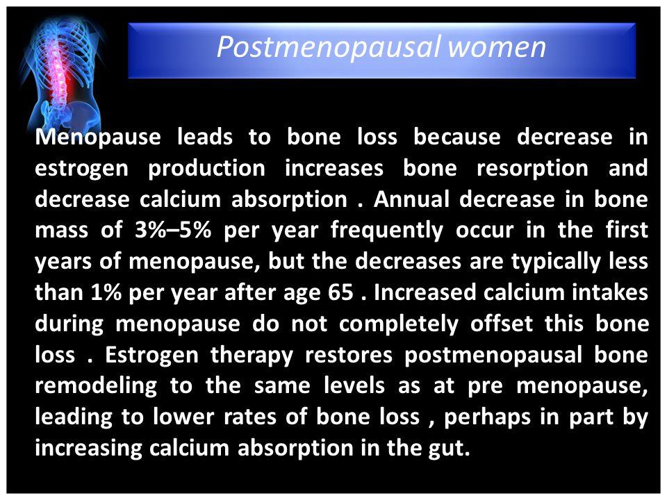 4/15/2017 Postmenopausal women.