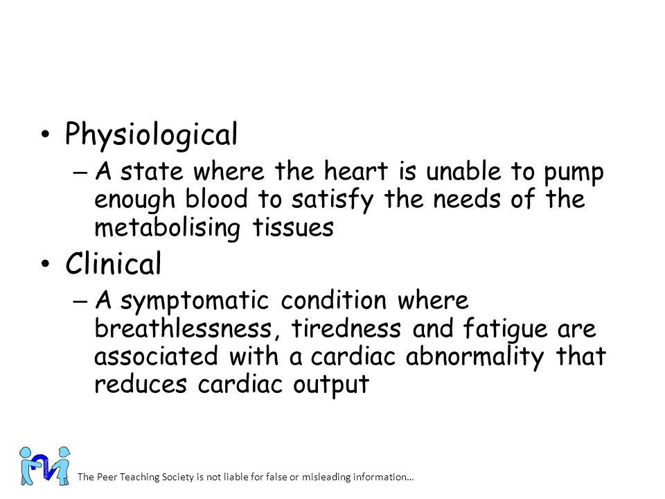 Physiological Clinical