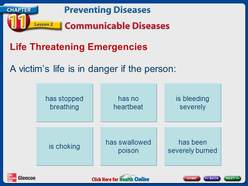 Life Threatening Emergencies