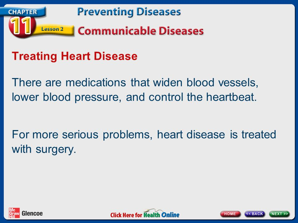 Treating Heart Disease