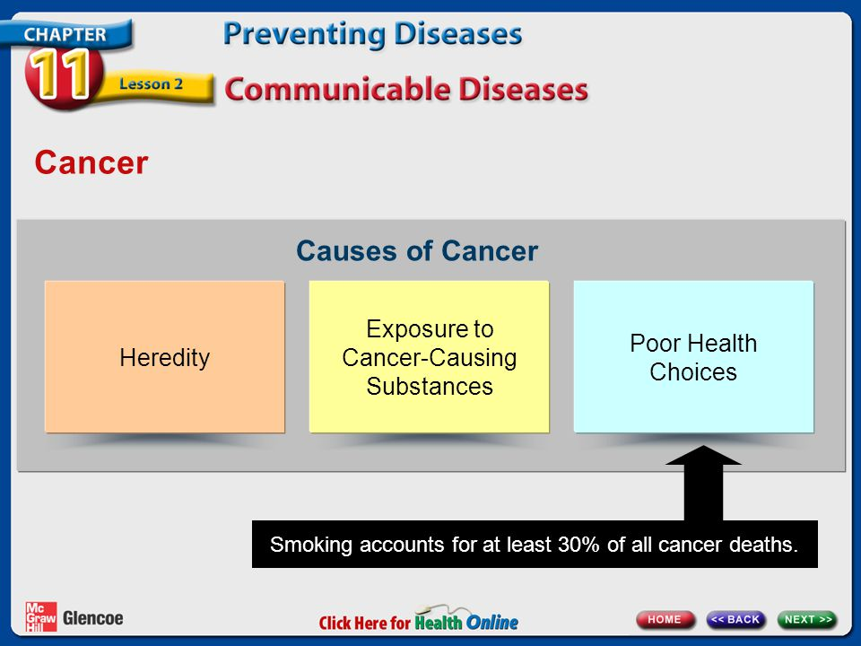 Cancer Causes of Cancer Exposure to Cancer-Causing Substances